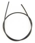 Шнурок кожаный d = 3,5 мм черный